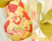 Fig Tree Quilts A Pear in a Tree Pattern - Pincushion, Toys, Ornament, Keepsakes