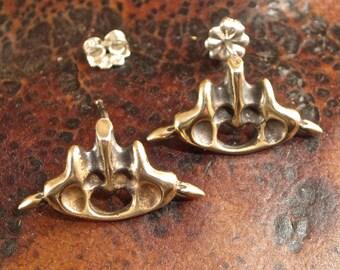 """Cast Bronze Post Earring - """"Alyssa"""""""