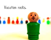 Summer Vacation, Humorous Print No. TWENTY-FIVE