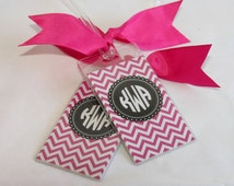 Luggage Tags  2 Personalized CHEVRON