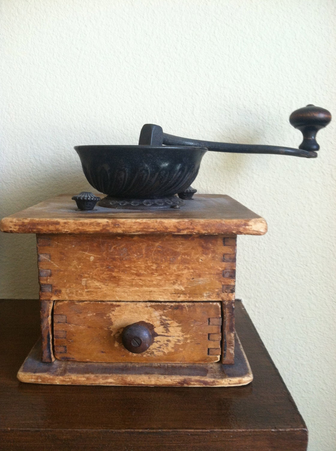 Old Coffee Grinders ~ Antique coffee grinder early s