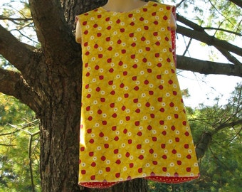 Jumper Reversible Lady Bugs with Red Poka Dots