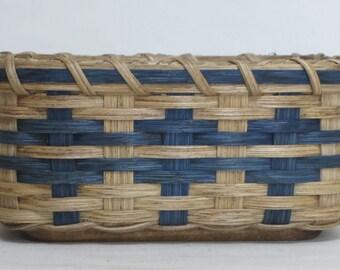 Napkin Basket- Bread Basket- Fruit Basket- Handwoven Basket-Square Basket