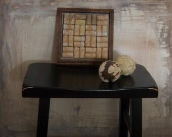Australian Wine Cork Trivet Reclaimed Wood Used Cork Home Decor New Orleans Vintage Shop Holiday Retro
