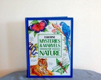 Vintage Children's Mysteries Marvels of Nature