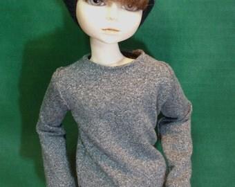 Ash Grey 45cm MSD BJD Shirt