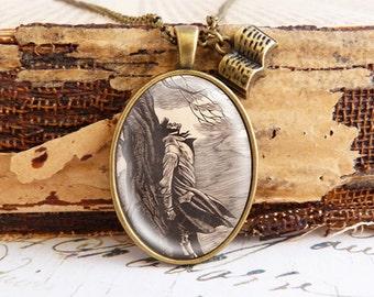 Heathcliff - Literature Necklace
