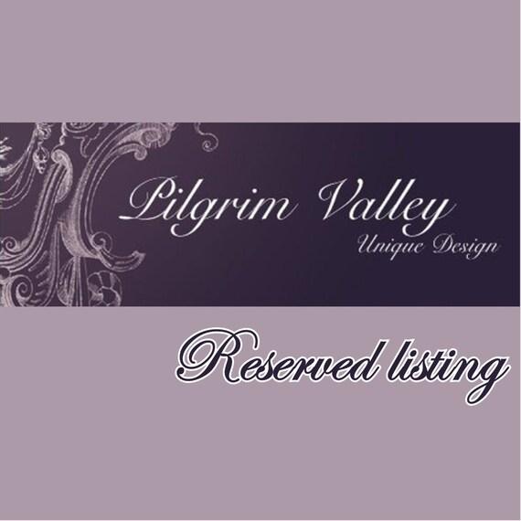 Reserved listing - Antique Victorian Royal Albert Crown China - Milk Jug - England