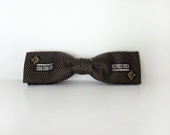 Black Bow Tie with fanciness