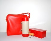 Vintage Thermos Hot / Cold  Travel Pack