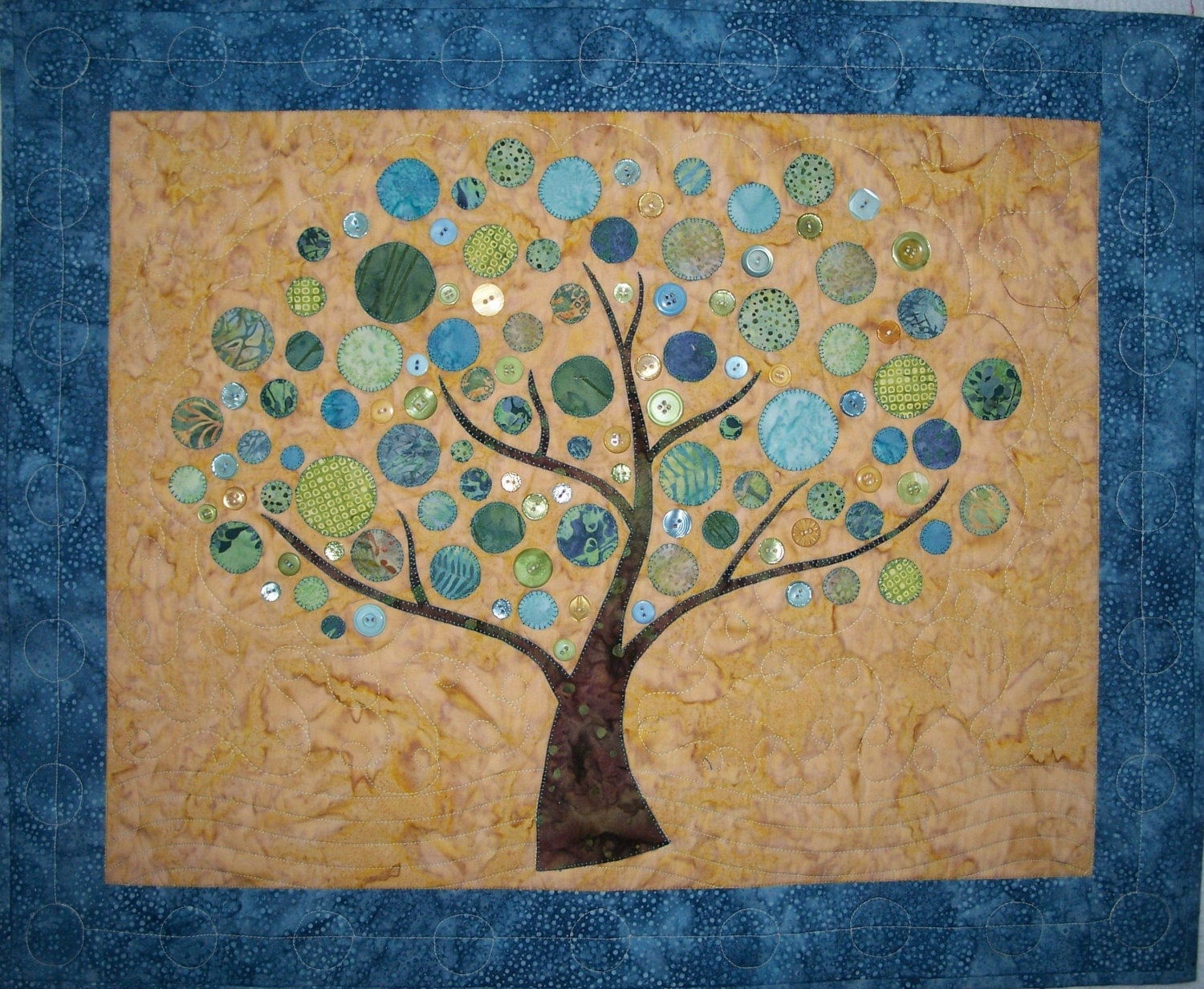 Kit Branching Out Wall Hanging Quilt Pattern And Kit