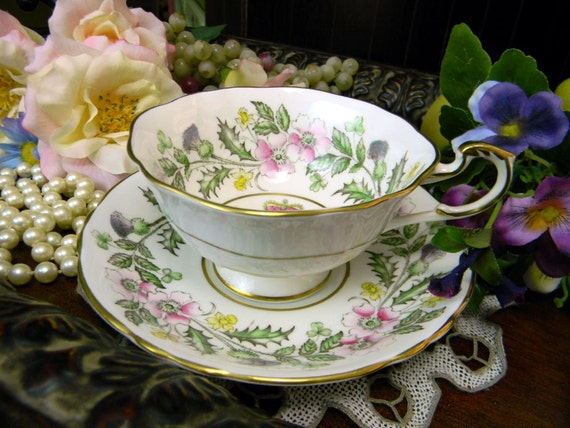 Paragon ER Bone China Tea Cup by Appointment - Wide Mouthed and Footed 9874