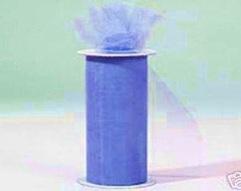54 inch x 50 yard bolt of Nylon Tulle -- PERIWINKLE