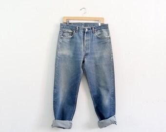 Levi's 501xx denim jeans, waist 34