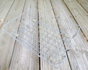 Vintage Wire Office Desk Tray.
