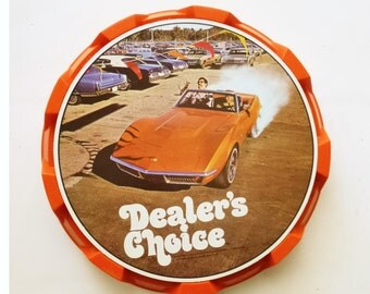 1970 Dealer's Choice Board Game
