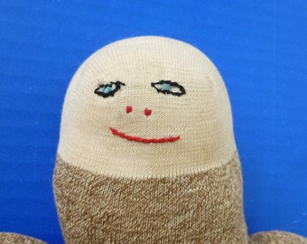 REDUCED 1930's Primitive Weird Folk Art Sock Doll