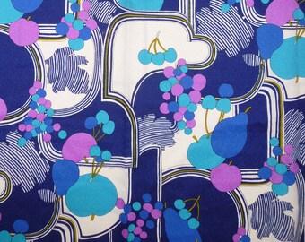 1970's Art Deco Style Acrylic fabric square