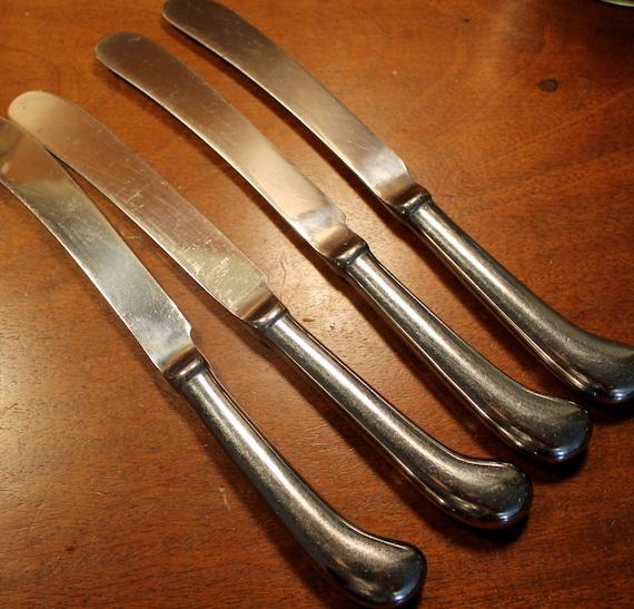 Classic Colonial American pattern Flatware Silverware Pistol Knives OLDE LEXINGTON