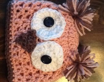 Girl Owl Hat