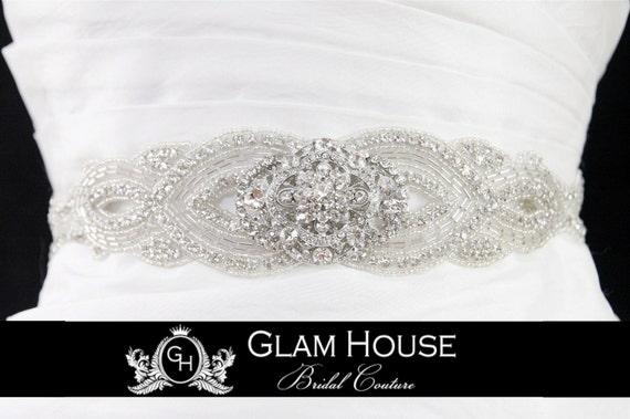 Rhinestone belt,bridal accessories,wedding sash,dress belt,bridal sash,bridal belt,wedding belt,Vintage wedding,winter wedding,sash,prom