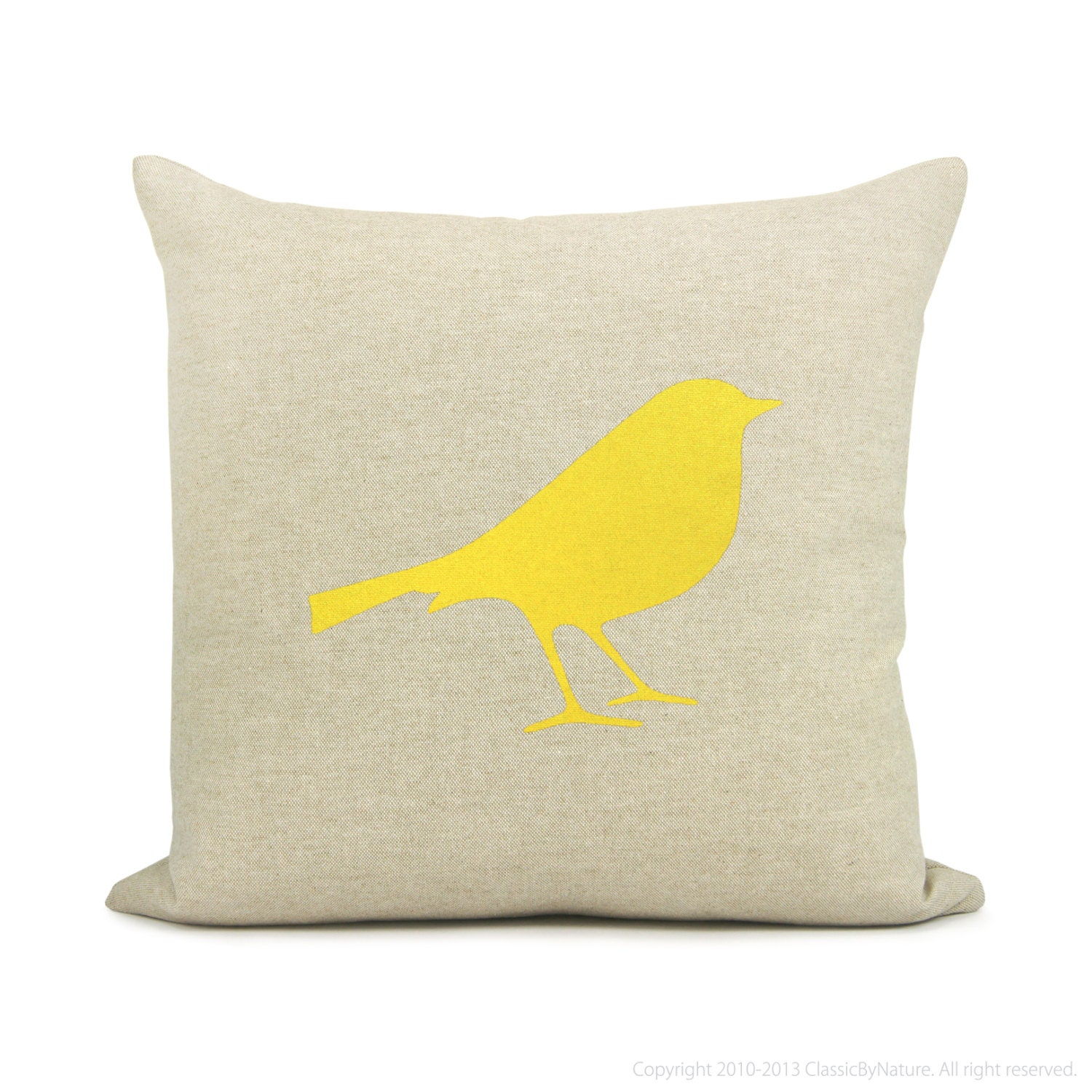 Etsy Yellow Throw Pillow : Kitchen & Dining