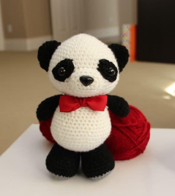 Amigurumi Panda Bear Crochet Pattern : Amigurumi crochet pattern dumpling the baby panda