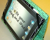 iPad Case Black and Green