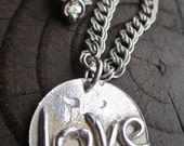 One Love - Sterling Silver Artisan original