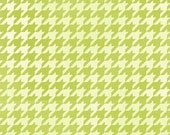 1 Yard Blushing Green Houndstooth by Margot Languedoc for Henry Glass