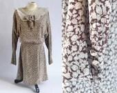 Vintage Korean Grunge Flapper Look Dress // xsmall xxsmall small