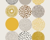 Circles, Open edition giclee print