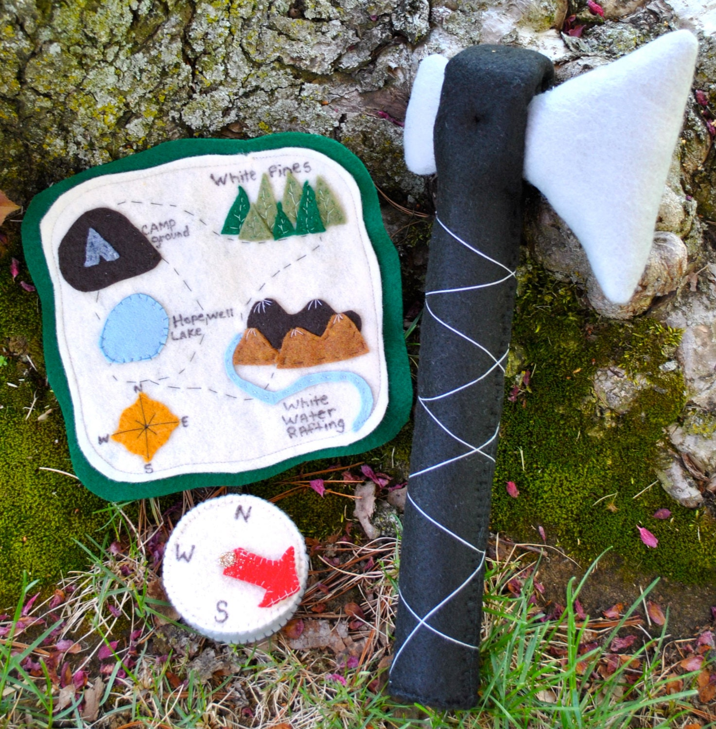 how to use map and compass for hiking