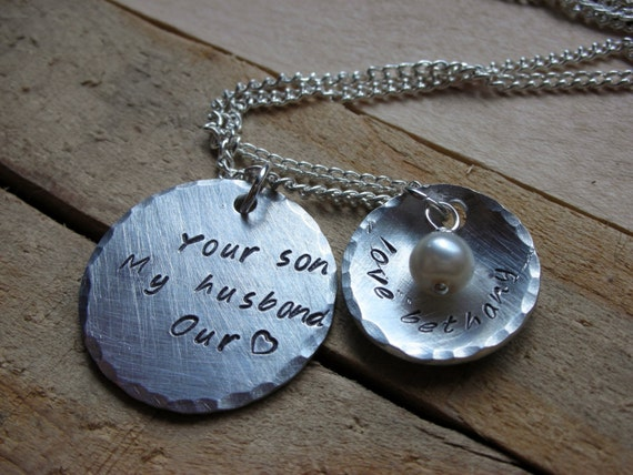 Gift Ideas For Mother To Give Daughter On Wedding Day : Gift-Daughter in Law Gift-Mothers Day -Mother in Law Necklace-Wedding ...