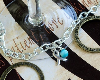 Ovarian Cancer, Anti-Bullying, Scleroderma, Cervical Cancer Awareness Bracelet