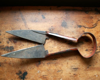 Vintage Red Gamble Sheep Shears - Clippers, Scissors