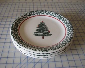 Vintage Italian Furio Tree Dinner Plate