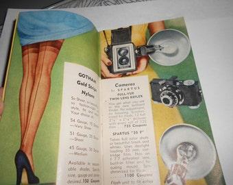"Cigarette Advertising Raleigh 1952 Premium Catalog ""Beautiful Premiums"" From Brown & Williamson Tobacco Corp"