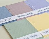 ADD-ONS : 2 Refill Packs for 6x8 2-Ring Binder