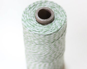 Mint Green Bakers Twine, Mint Twine for Wedding Favors, Gift Wrapping, Party Decorations - 240 yard spool