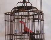 Bird cage with six sides