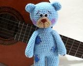 Amigurumi Teddy Bear pdf pattern