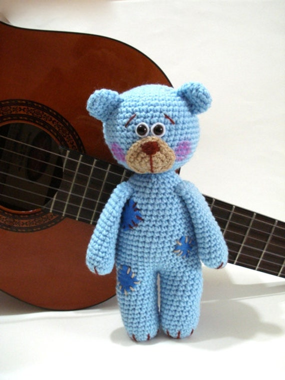 Pattern Teddy Bear Pattern Crochet Tutorial Amigurumi Teddy