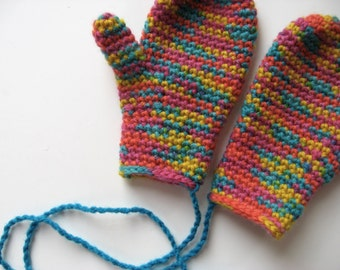 toddler wool child's size 3 mittens