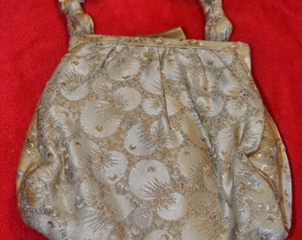 Vintage Brocade Evening Bag  from the 50's