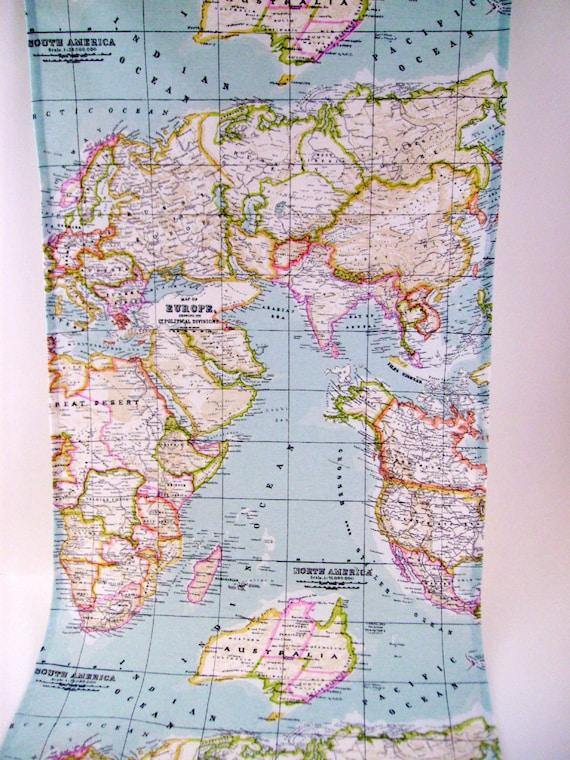 Worksheet. map fabric world map fabric fabric map of the world world