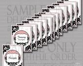 Receipt Organizing Printable Pack - (13) Printable PDF files - Instant Digital Download