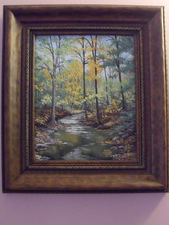 Sale Was 200 Vintage Oil Painting On Canvas Landscape By