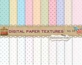 Dots Digital Scrapbook Paper Pack  No 18 - 12x12