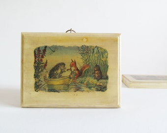 Vintage Fairytale Wood Plaque